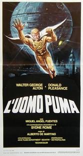 O Homem Puma - Poster / Capa / Cartaz - Oficial 1