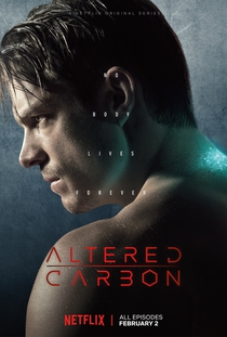 Altered Carbon (1ª Temporada) - Poster / Capa / Cartaz - Oficial 5