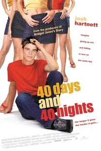 40 Dias e 40 Noites - Poster / Capa / Cartaz - Oficial 5