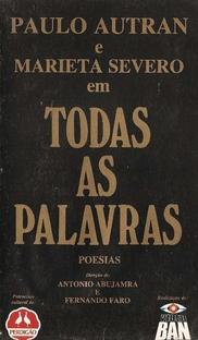 Todas as Palavras - Poster / Capa / Cartaz - Oficial 1