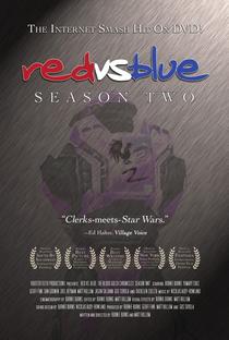 Red Vs Blue (2ª Temporada) - Poster / Capa / Cartaz - Oficial 1