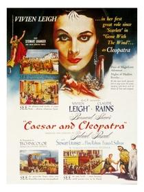 César e Cleópatra - Poster / Capa / Cartaz - Oficial 2