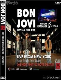 Bon Jovi Live From Nokia Theater - Poster / Capa / Cartaz - Oficial 1
