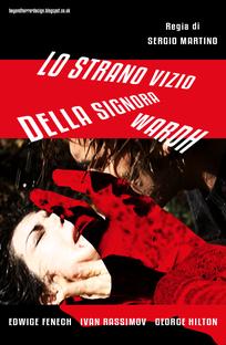 O Estranho Vício da Senhora Wardh - Poster / Capa / Cartaz - Oficial 10