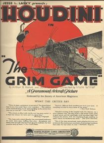 The Grim Game - Poster / Capa / Cartaz - Oficial 3