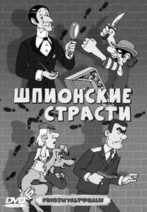 Paixão de espiões - Poster / Capa / Cartaz - Oficial 1