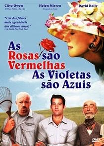 As Rosas São Vermelhas, as Violetas São Azuis - Poster / Capa / Cartaz - Oficial 1