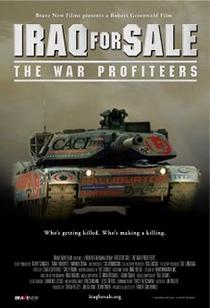Iraque à Venda: Os Lucros da Guerra - Poster / Capa / Cartaz - Oficial 1