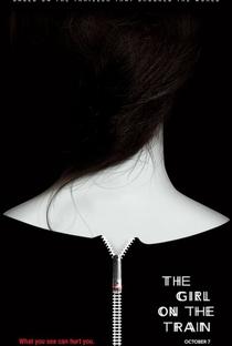 A Garota no Trem - Poster / Capa / Cartaz - Oficial 2