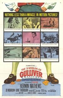 Os 3 Mundos de Gulliver - Poster / Capa / Cartaz - Oficial 1