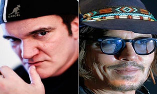 Quentin Tarantino quer trabalhar com Johnny Depp
