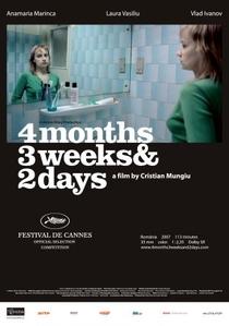 4 Meses, 3 Semanas e 2 Dias - Poster / Capa / Cartaz - Oficial 6