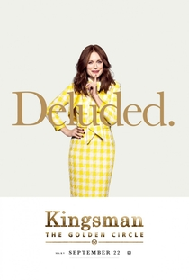 Kingsman: O Círculo Dourado - Poster / Capa / Cartaz - Oficial 13