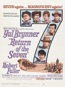 A Volta dos Sete Homens - Poster / Capa / Cartaz - Oficial 3