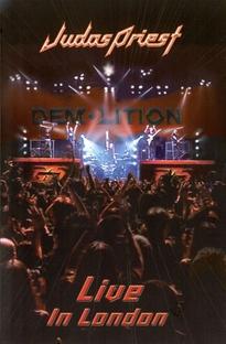 Judas Priest - Live in London - Poster / Capa / Cartaz - Oficial 1