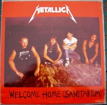 "Metallica - ""Welcome Home (Sanitarium)"" - Poster / Capa / Cartaz - Oficial 1"