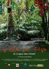 A Língua das Coisas - Poster / Capa / Cartaz - Oficial 1