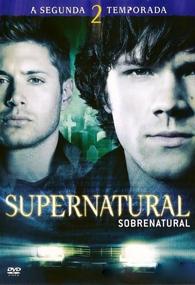 Sobrenatural (2ª Temporada) - Poster / Capa / Cartaz - Oficial 1
