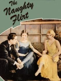 The Naughty Flirt - Poster / Capa / Cartaz - Oficial 1