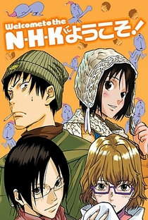NHK ni Youkoso! - Poster / Capa / Cartaz - Oficial 2