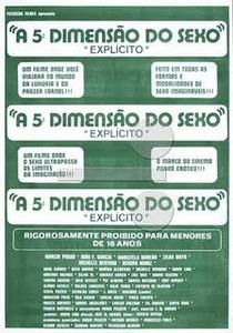 A Quinta Dimensão do Sexo - Poster / Capa / Cartaz - Oficial 1