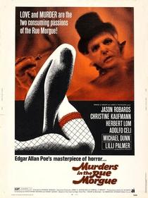 Assassinatos na Rua Morgue - Poster / Capa / Cartaz - Oficial 1