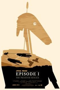 Star Wars, Episódio I: A Ameaça Fantasma - Poster / Capa / Cartaz - Oficial 5