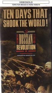 Dez dia que chocaram o mundo. A história da revolução russa. - Poster / Capa / Cartaz - Oficial 1