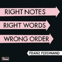 Right Notes, Right Words, Wrong Order - Poster / Capa / Cartaz - Oficial 1