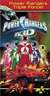 Power Rangers em 3-D: Força Tripla - Poster / Capa / Cartaz - Oficial 2