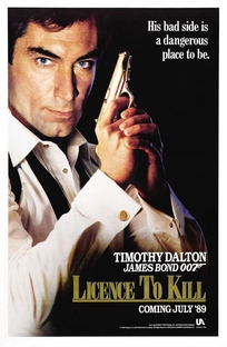 007 - Permissão Para Matar - Poster / Capa / Cartaz - Oficial 1
