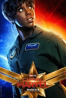 Capitã Marvel - Poster / Capa / Cartaz - Oficial 11