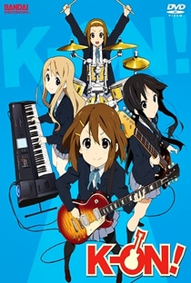 K-On! (1ª Temporada) - Poster / Capa / Cartaz - Oficial 16