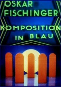 Komposition in Blau - Poster / Capa / Cartaz - Oficial 3