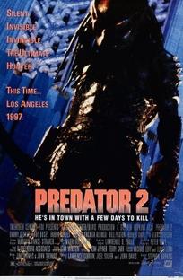 Predador 2 - A Caçada Continua - Poster / Capa / Cartaz - Oficial 2