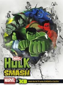 Hulk e os Agentes de S.M.A.S.H. (2ª Temporada) - Poster / Capa / Cartaz - Oficial 1