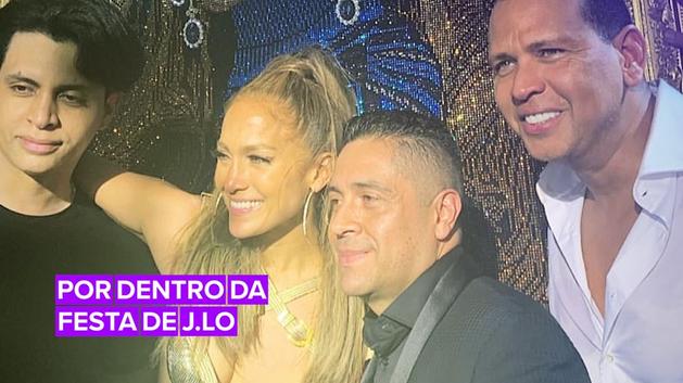 Confira tudo que rolou na festa de J.Lo
