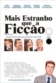 Mais Estranho que a Ficção - Poster / Capa / Cartaz - Oficial 2