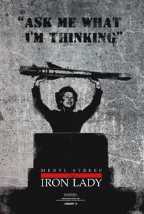 A Dama de Ferro - Poster / Capa / Cartaz - Oficial 9