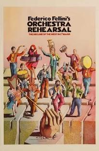 Ensaio de Orquestra - Poster / Capa / Cartaz - Oficial 1