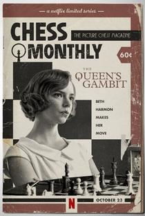 O Gambito da Rainha - Poster / Capa / Cartaz - Oficial 2