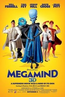 Megamente - Poster / Capa / Cartaz - Oficial 3