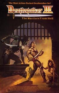 Deathstalker 3 - Os Guerreiros do Inferno - Poster / Capa / Cartaz - Oficial 1