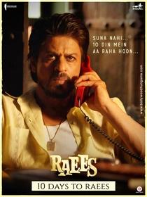 Raees - Poster / Capa / Cartaz - Oficial 10