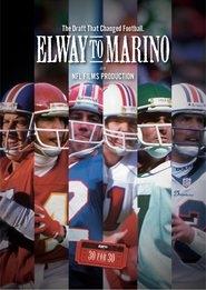 ESPN 30 for 30: Elway to Marino - Poster / Capa / Cartaz - Oficial 1