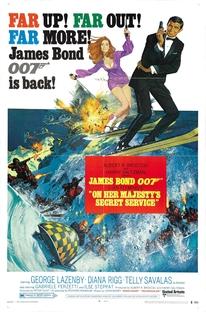 007 - A Serviço Secreto de Sua Majestade - Poster / Capa / Cartaz - Oficial 2