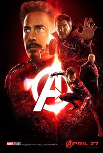 Vingadores: Guerra Infinita - Poster / Capa / Cartaz - Oficial 16