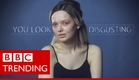 'You look disgusting' - Interview with beauty blogger who shamed bullies - BBC Trending