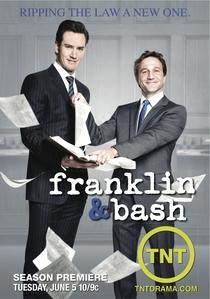 Franklin & Bash (2ª Temporada) - Poster / Capa / Cartaz - Oficial 1