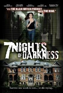 7 Nights Of Darkness - Poster / Capa / Cartaz - Oficial 1